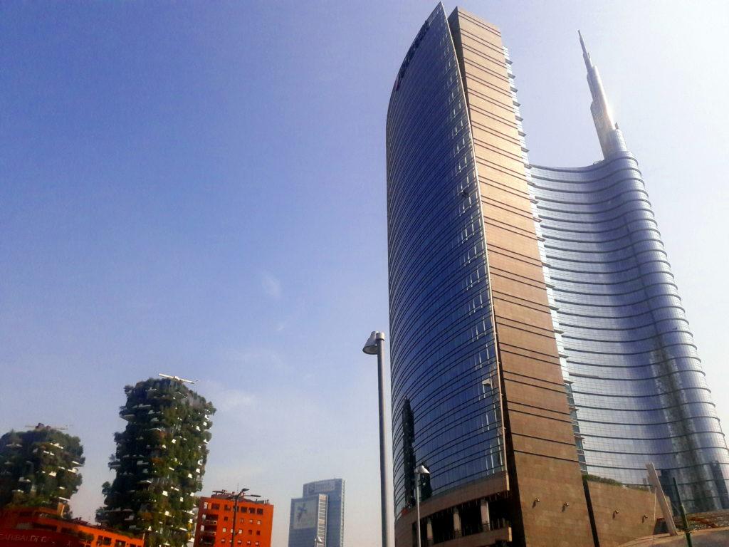bosco verticale milan unicredit tower