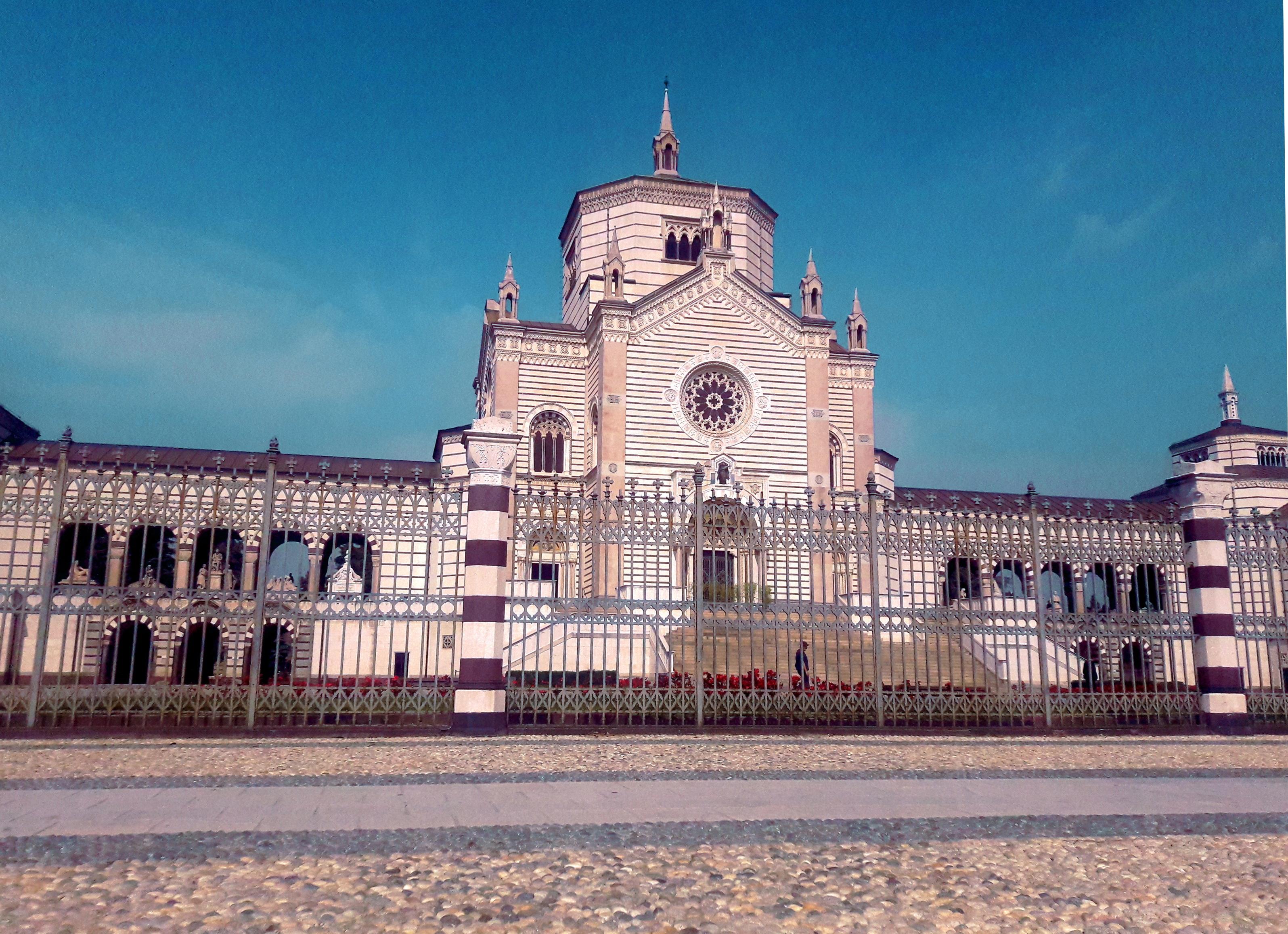 cimitero monumentale milan travel italy