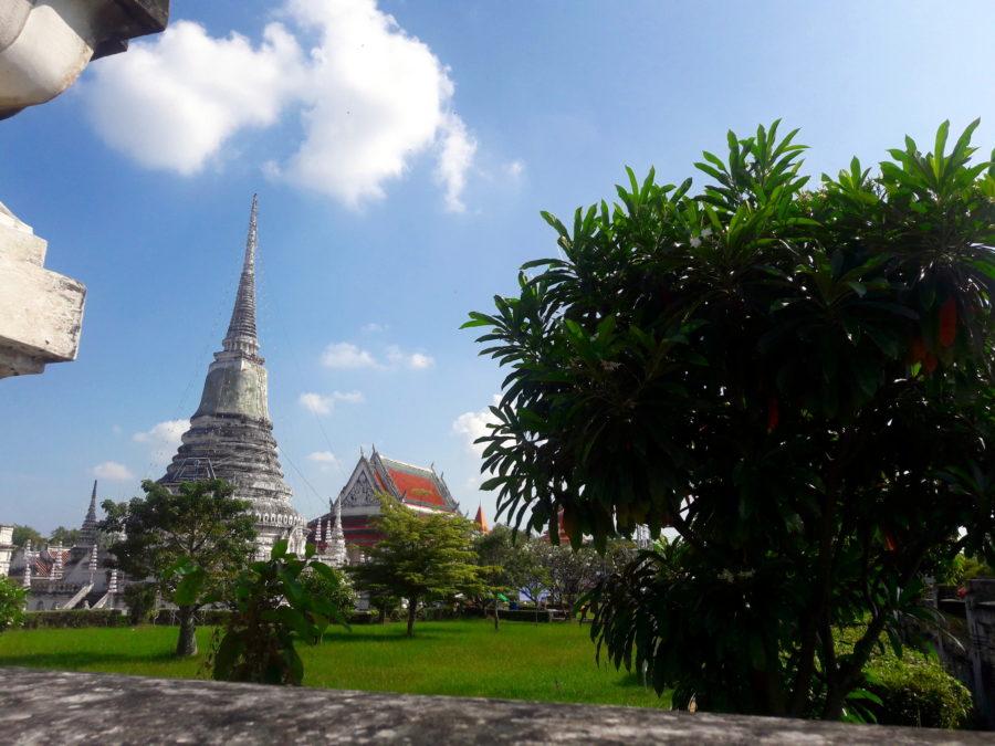 thailand temple phra samut chedi samut prakan