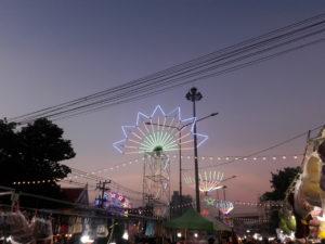 thailand samut prakan temple fair travel southeast asia