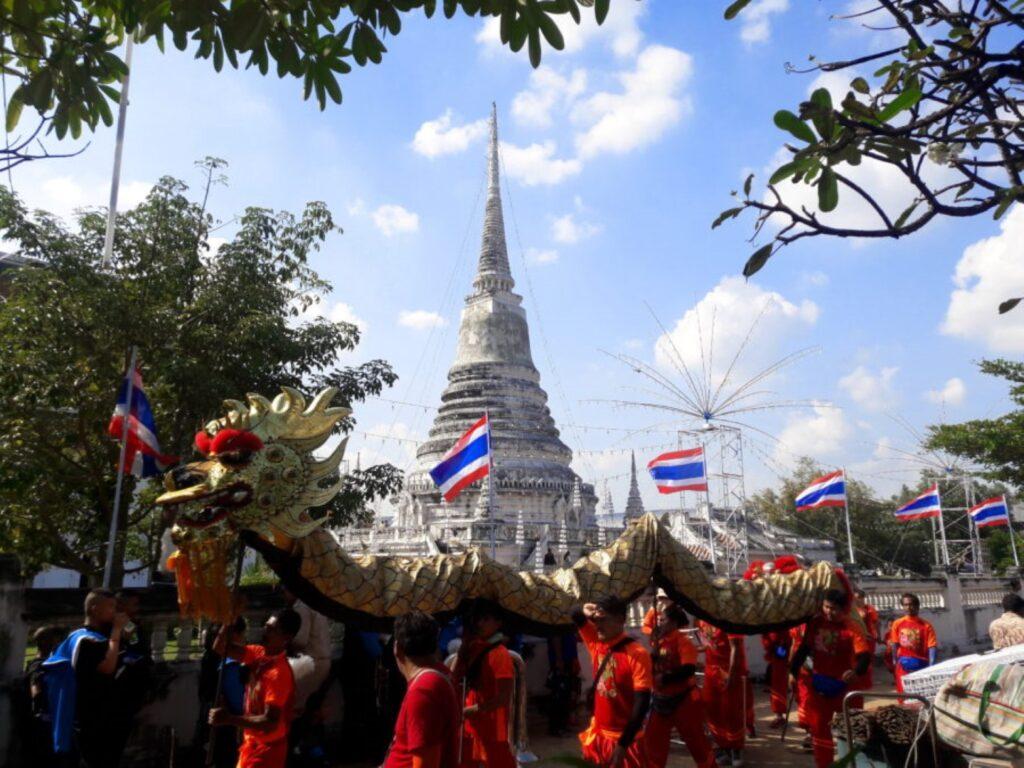 festivalul phra samut chedi