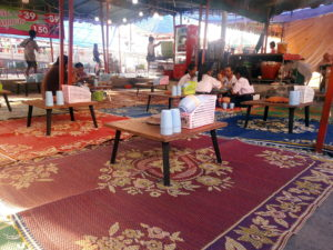 thailand food temple fair restaurant travel southeast asia