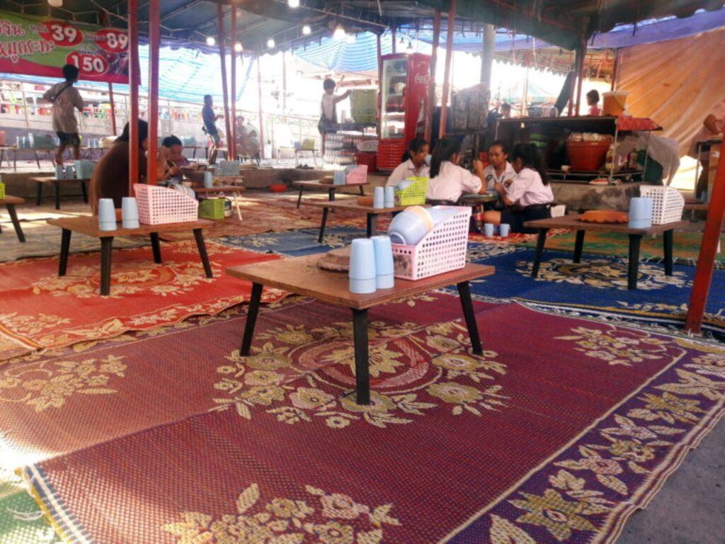 restaurant improvizat phra samut chedi