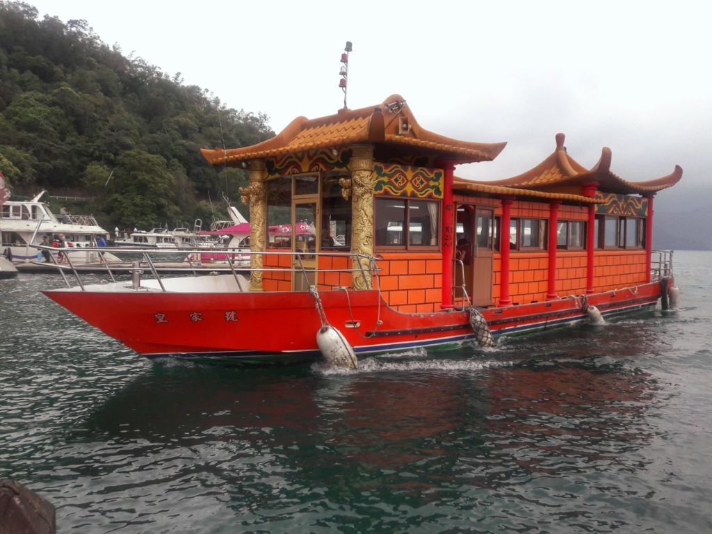 taiwan sun moon lake barca