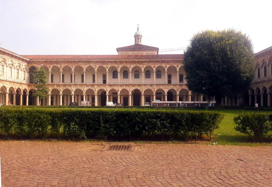 ca grande universitatea din milano