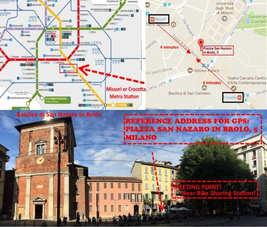 tur ghidat gratuit frog walking tour milano meeting point
