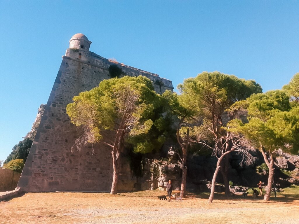 castelul doria portovenere