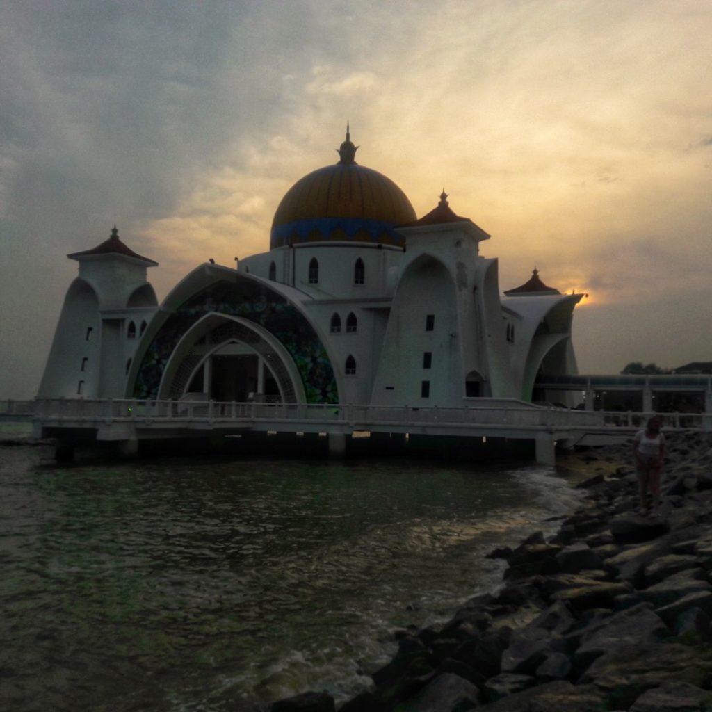 straits mosque floating mosque malaysia melaka