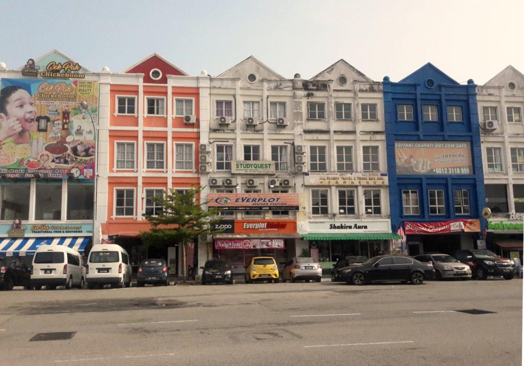 melaka malaysia buildings