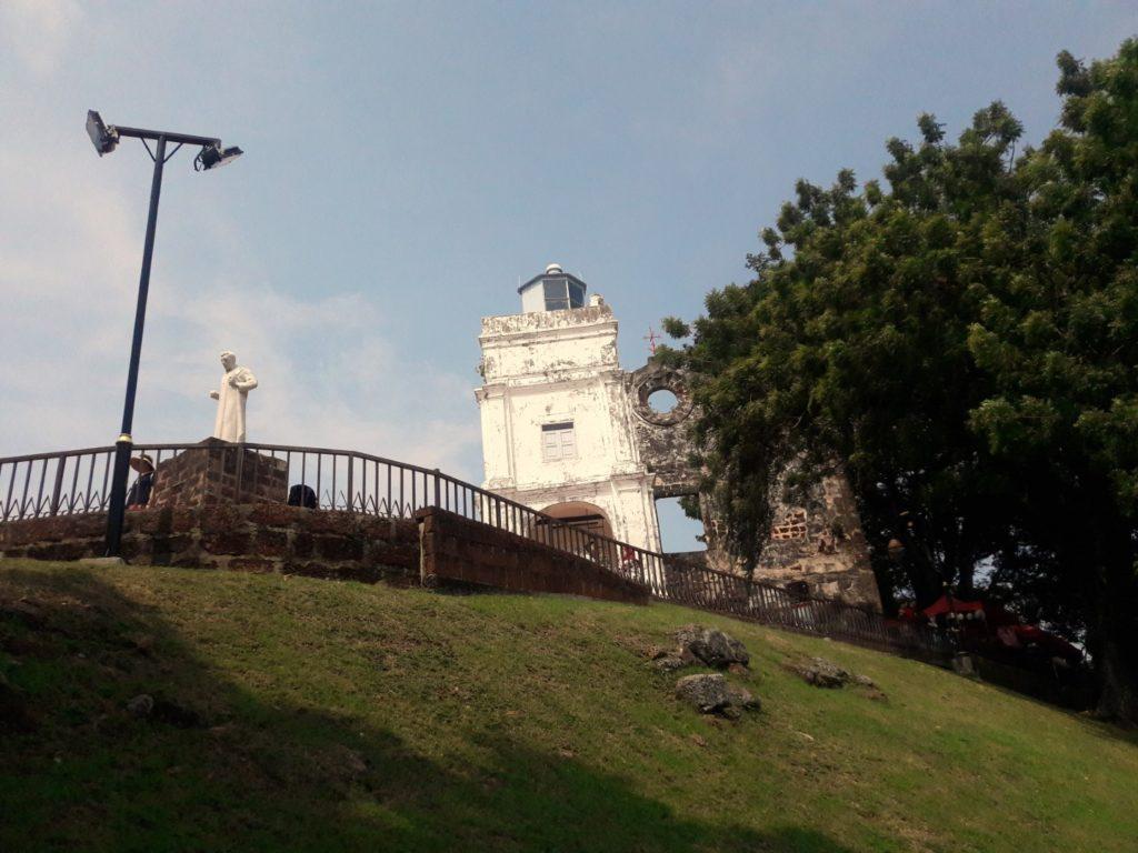 st paul hill melaka malaysia