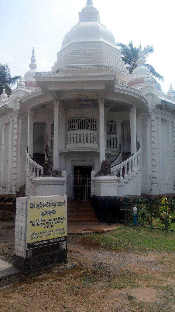 stupa templul angurukaramulla negombo