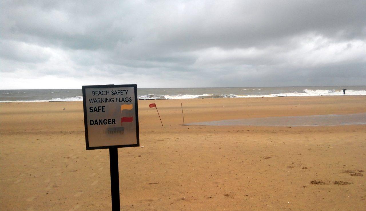 negombo sri lanka plaja