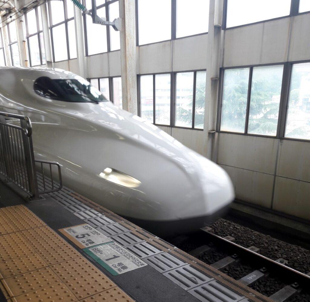 trenul japonez de mare viteza